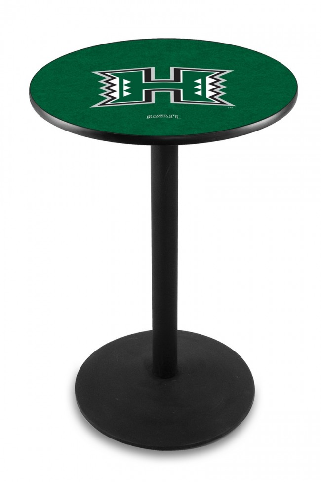 L214 University Of Hawaii Logo Pub Table