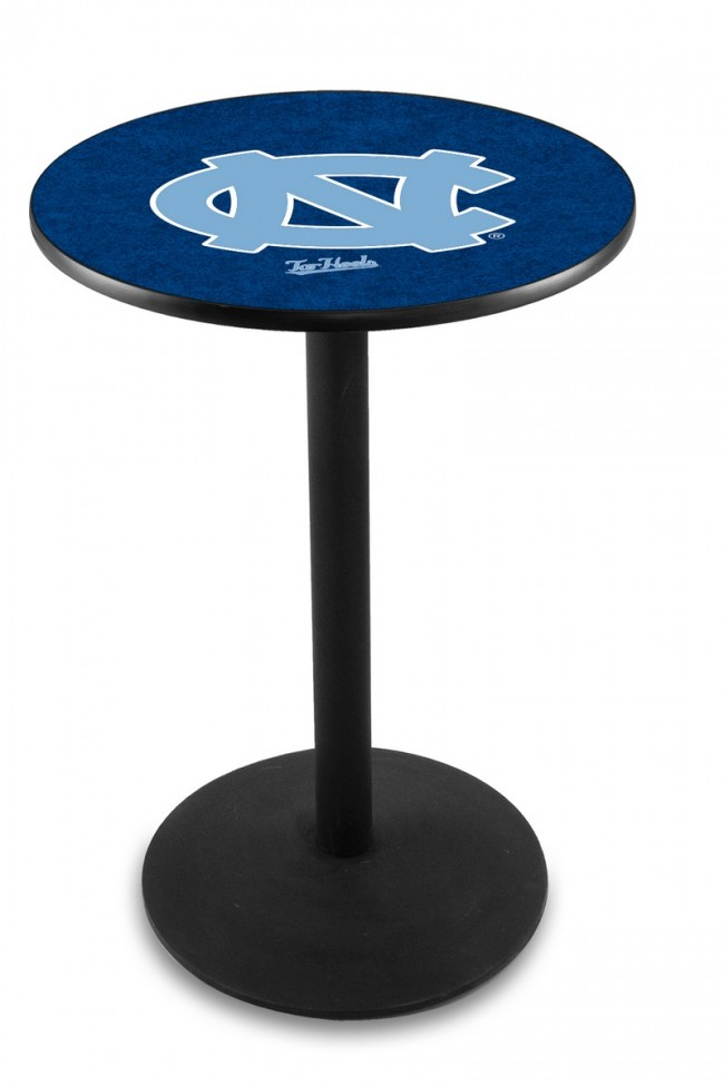 L214 University Of North Carolina Logo Pub Table