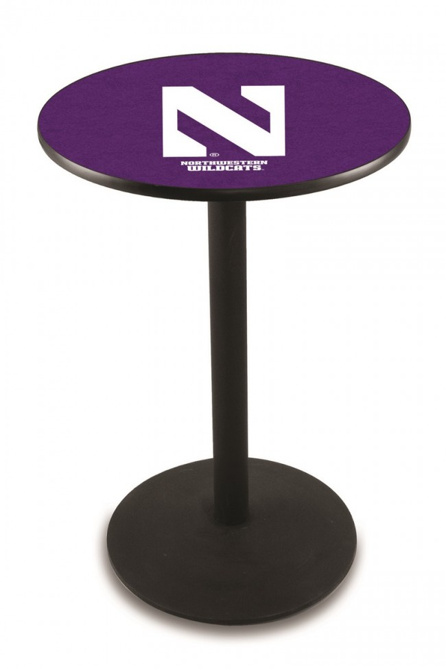 L214 Northwestern University Logo Pub Table