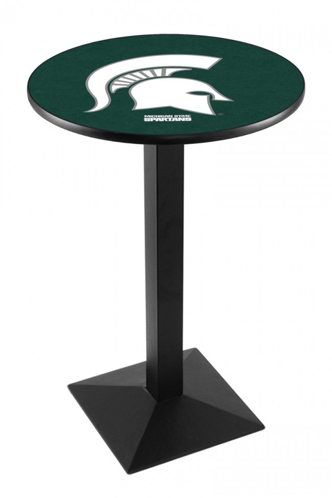 L217 Black Wrinkle Michigan State University Logo Pub Table : l217michst2 from hollandbarstool.com size 650 x 975 jpeg 45kB