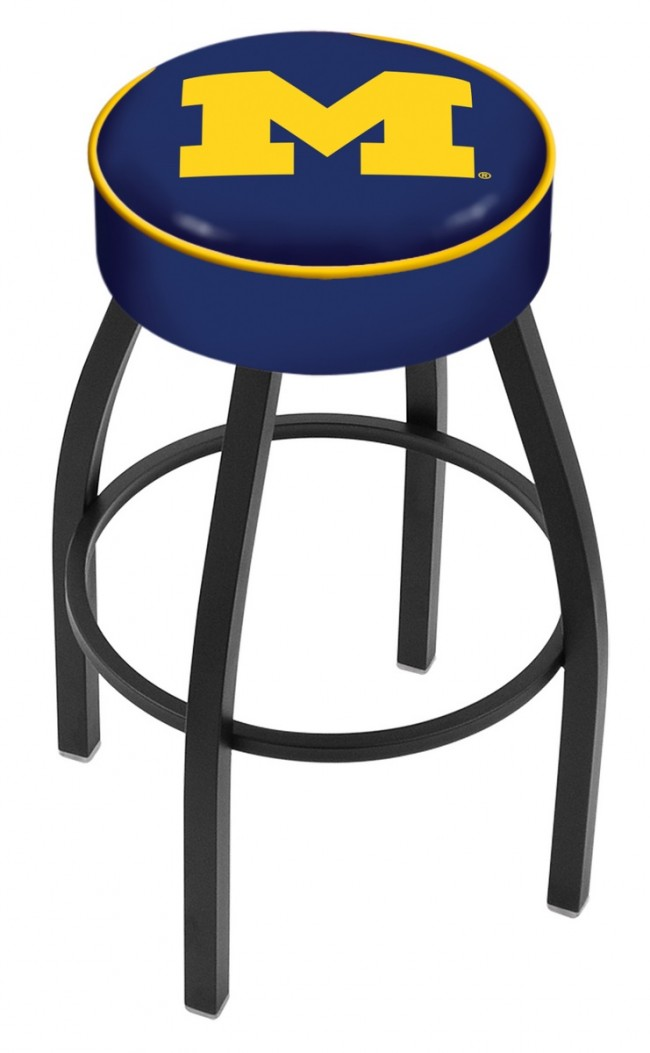 L8b1 University Of Michigan Logo Bar Stool