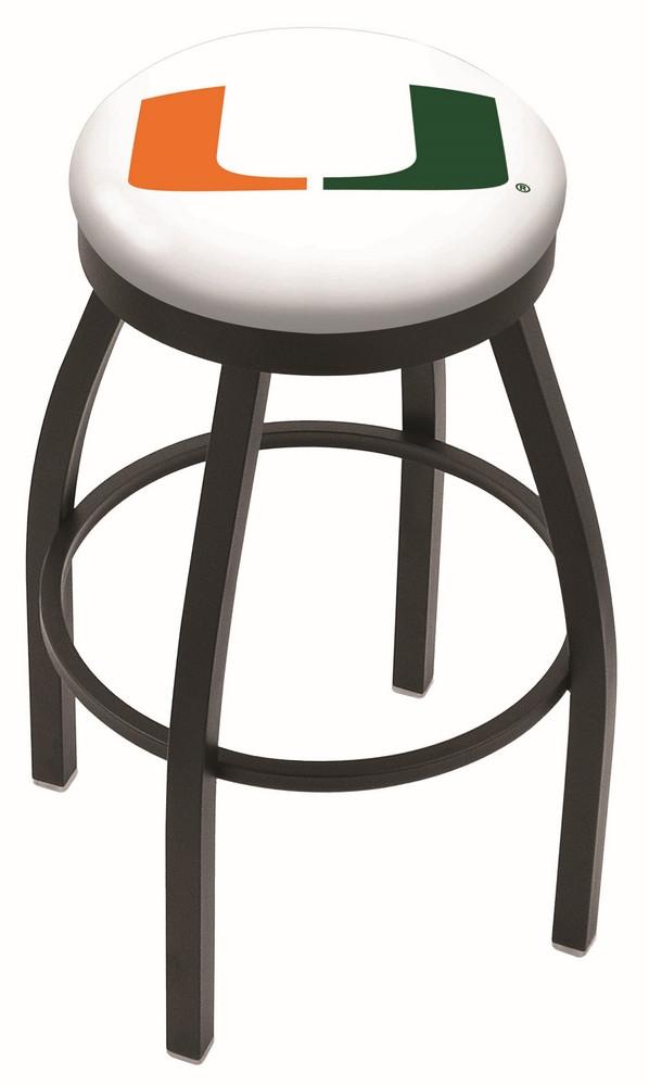 L8B2B University of Miami Florida Logo Bar Stool : l8b2bmia fl2 from hollandbarstool.com size 598 x 1000 jpeg 58kB