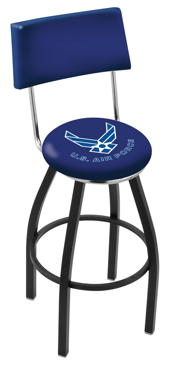 L8B4 US Air Force Logo Bar Stool : l8b4airfor2 from hollandbarstool.com size 559 x 1200 jpeg 65kB