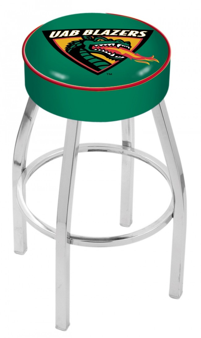 L8c1 University Of Alabama At Birmingham Logo Bar Stool