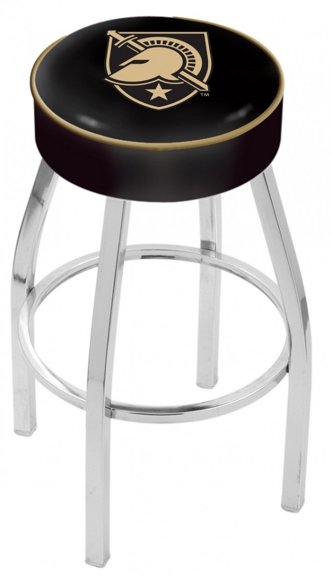 L8c1 Us Military Academy Logo Bar Stool