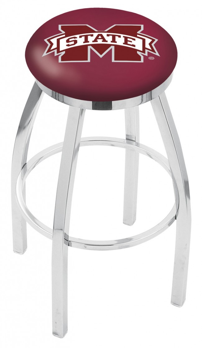L8c2c Mississippi State University Logo Bar Stool