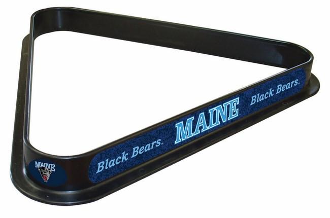 University Of Maine Logo Billiard Triangle