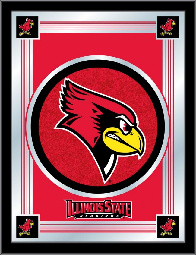 Illinois State University Logo Mirror