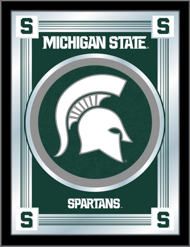 Michigan State University Logo Mirror