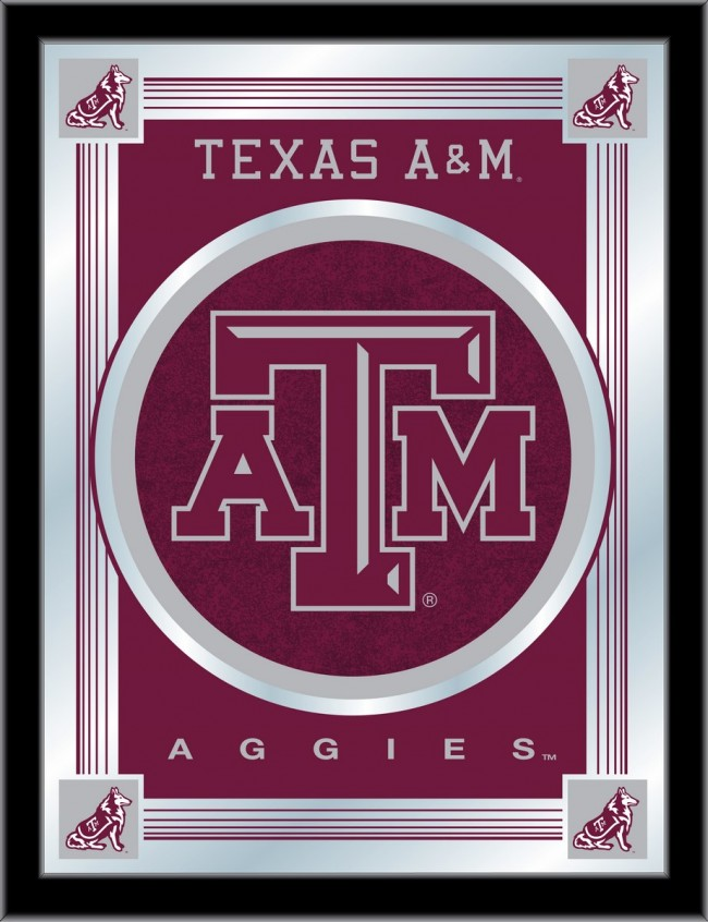 Texas A Amp M Logo Mirror