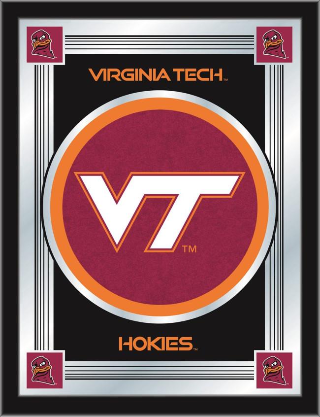 515e057a Virginia Tech Logo Mirror