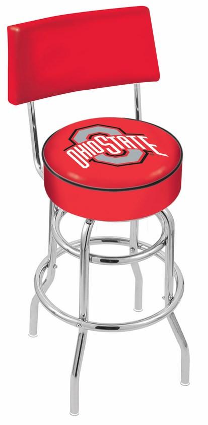 L7c4 Ohio State University Logo Bar Stool