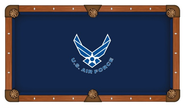 Us air force pool table cloth for Table table logo