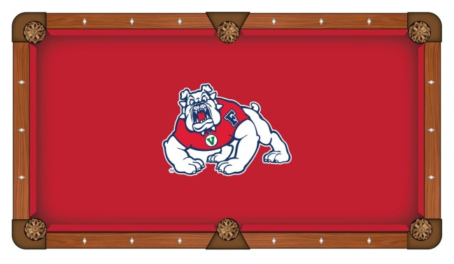 fresno state pool table cloth by covers by hbs