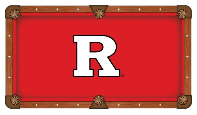 rutgers university pool table cloth by covers by hbs