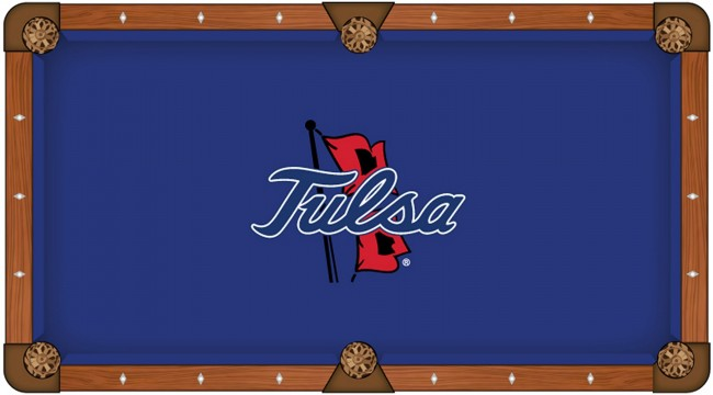 University Of Tulsa Oklahoma Pool Block Table Cloth