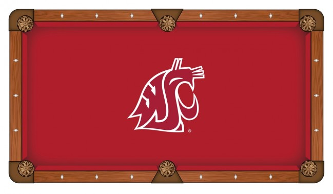 washington state university pool table cloth by covers by hbs