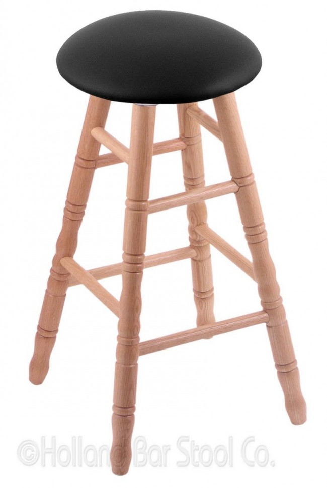 Round Cushion Domestic Hardwood Stool