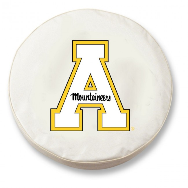 Appalachian State Logo Tire Cover White : tcappstuwt13 from hollandbarstool.com size 650 x 650 jpeg 44kB
