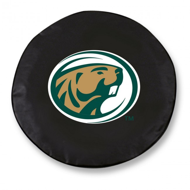 Bemidji State Logo Tire Cover Black