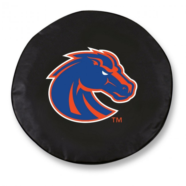 Boise State Logo Tire Cover Black
