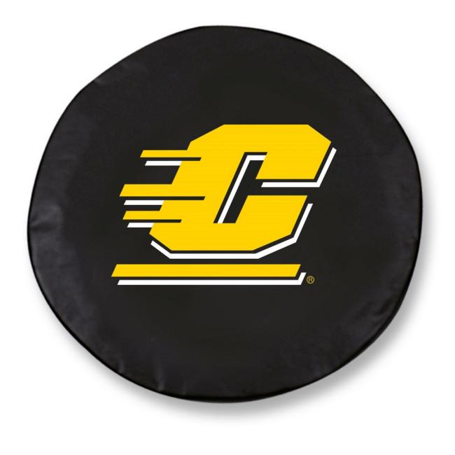 Central Michigan University Logo Tire Cover Black
