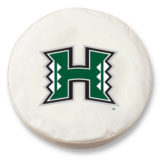 University Of Hawaii Logo Tire Cover White