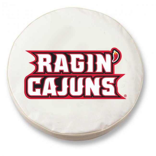 University Of Louisiana At Lafayette Logo Tire Cover White