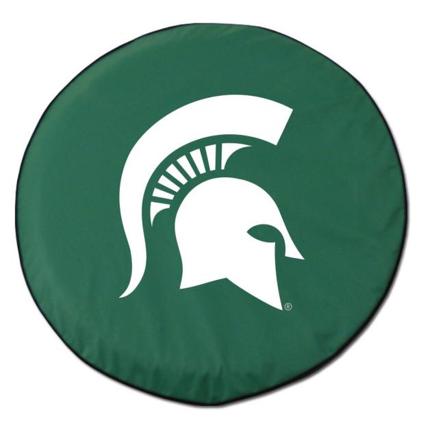Michigan State University Logo Tire Cover Green