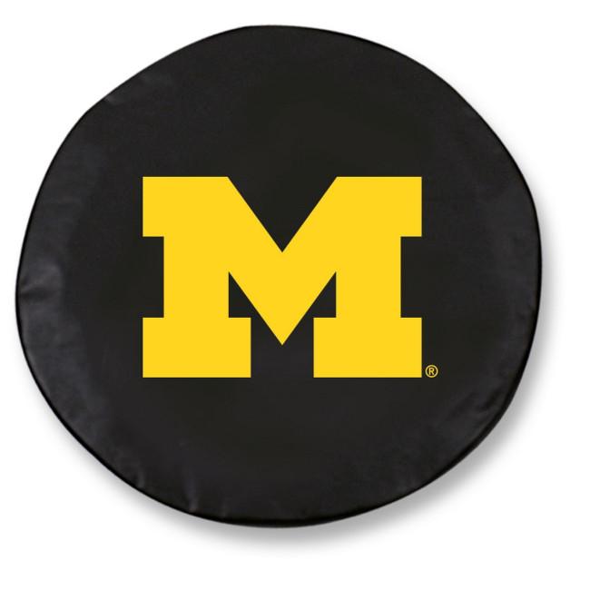 University Of Michigan Logo Tire Cover Black