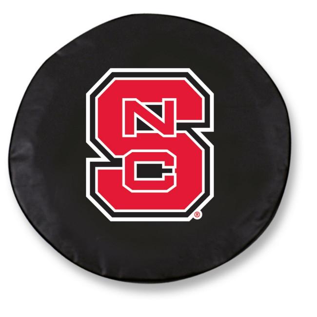 North Carolina State Logo Tire Cover Black