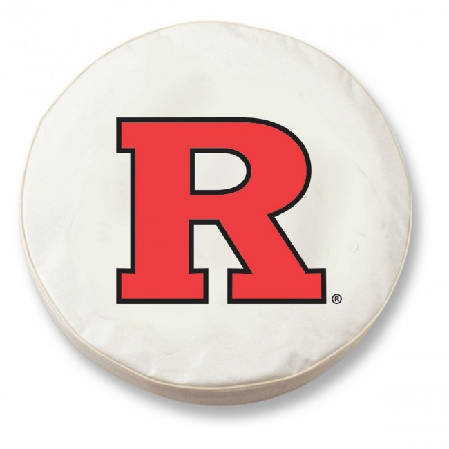 Rutgers University Logo Tire Cover White
