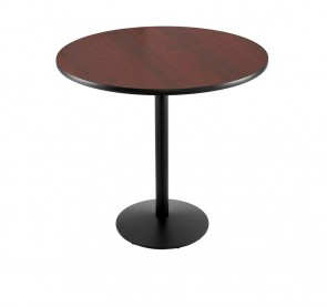 214-22 Black Wrinkle Table Set