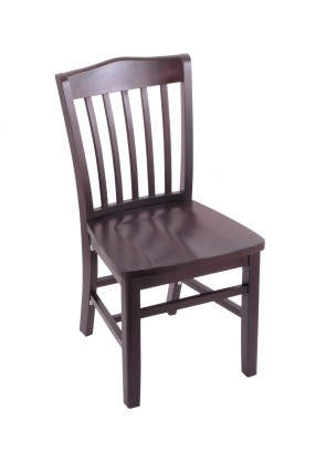 Hampton Series Chair in Dark Cherry Finish