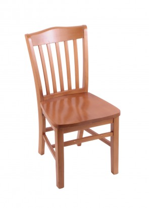 Hampton Series Chair in Medium Finish