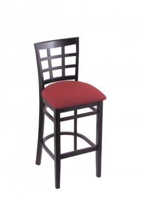 3130 Hampton Series Bar Stool in Black Finish