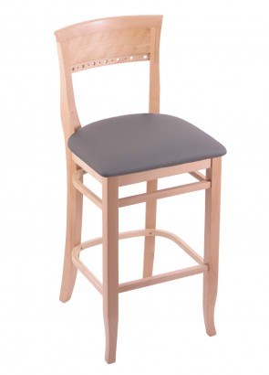 3160 Hampton Series Bar Stool in Natural Finish