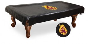 Arizona State Sparky Pool Table Cover
