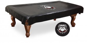 Georgia Dog Pool Table Cover