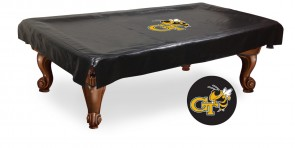 Georgia Tech Pool Table Cover