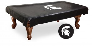 Michigan State University Logo Billiard Cover