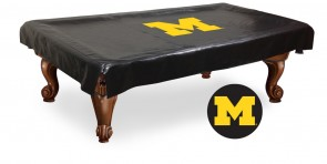 University of Michigan Logo Billiard Cover