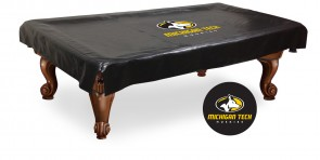 Michigan Tech Logo Billiard Cover