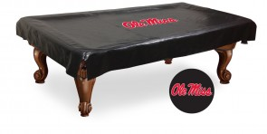 University of Mississippi Logo Billiard Cover
