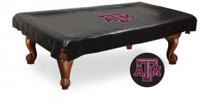 Texas A&M Logo Billiard Cover