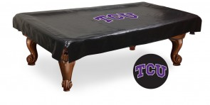 Texas Christian University Logo Billiard Cover