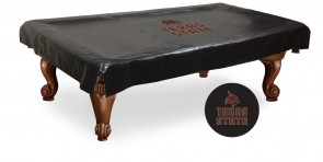 Texas State Pool Table Cover