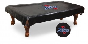 University of Tulsa Logo Billiard Cover