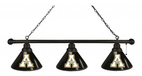 Appalachian State Billiard Light Black Finish