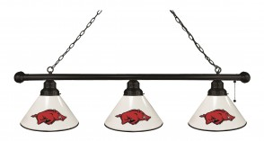 University of Arkansas Black Billiard Light
